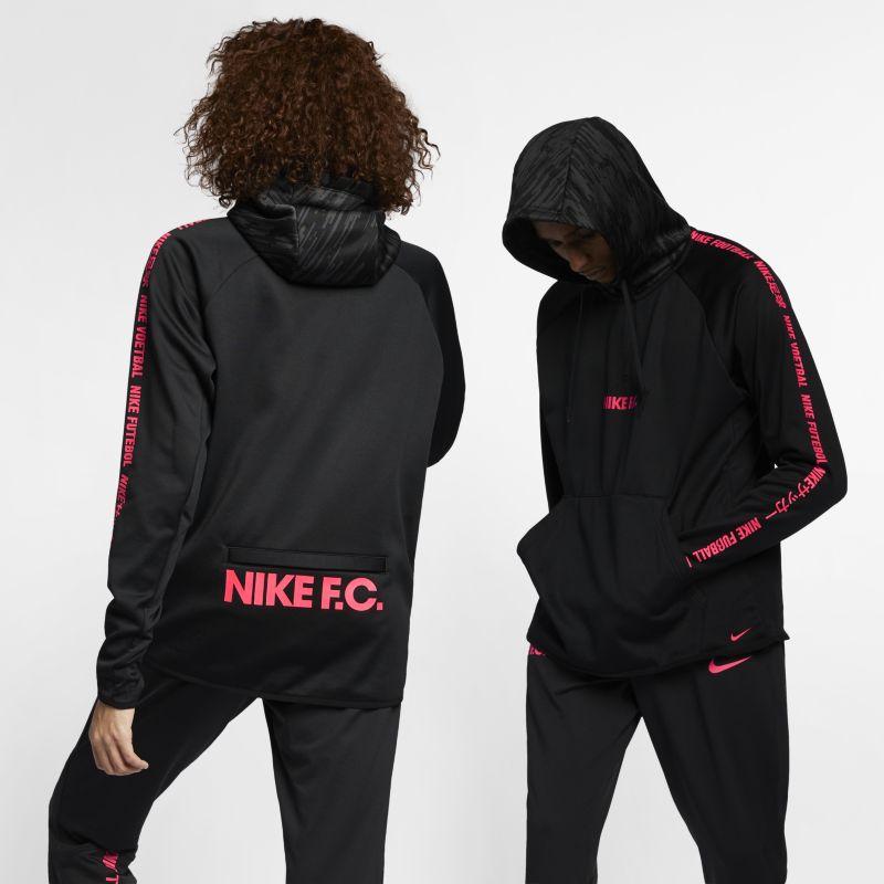 Nike F.C. Men's Football Hoodie - Black