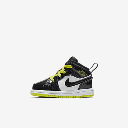 c9197f2066d54f Air Jordan 1 Mid Infant Toddler Shoe. Nike.com