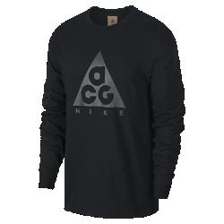 お買得!2019年12月発売 28%OFF!<ナイキ(NIKE)公式ストア>ナイキ ACG ロングスリーブ Tシャツ BQ7203-010 ブラック画像