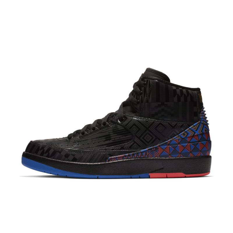 uk availability 97af5 20138 Sko Air Jordan 2 Retro BHM för män - Svart