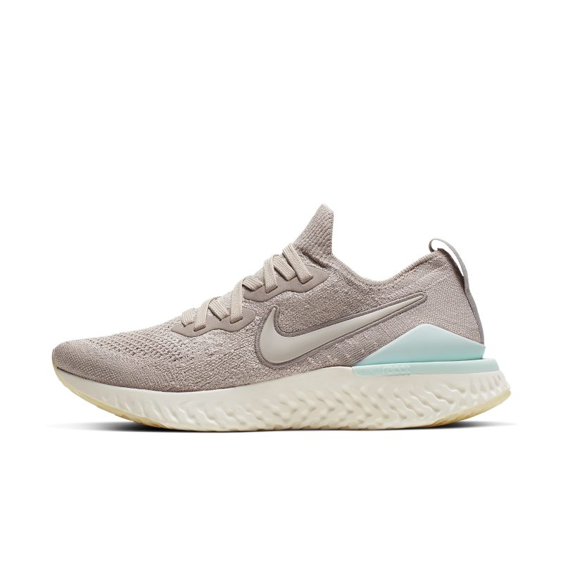 Nike Epic React Flyknit 2 Zapatillas de running - Mujer - Crema