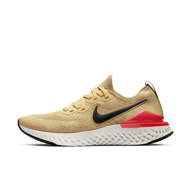 Nike Epic React Flyknit 2 Zapatillas de running - Hombre - Oro