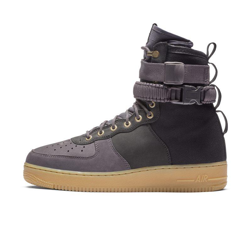 wholesale dealer 4177c 1cc35 Sko Nike SF Air Force 1 Premium för män - Svart