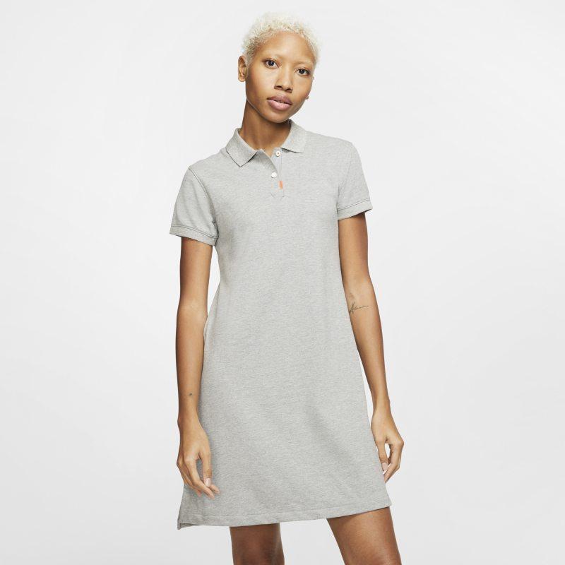 Nike The Nike Polo womens Dress - Grey