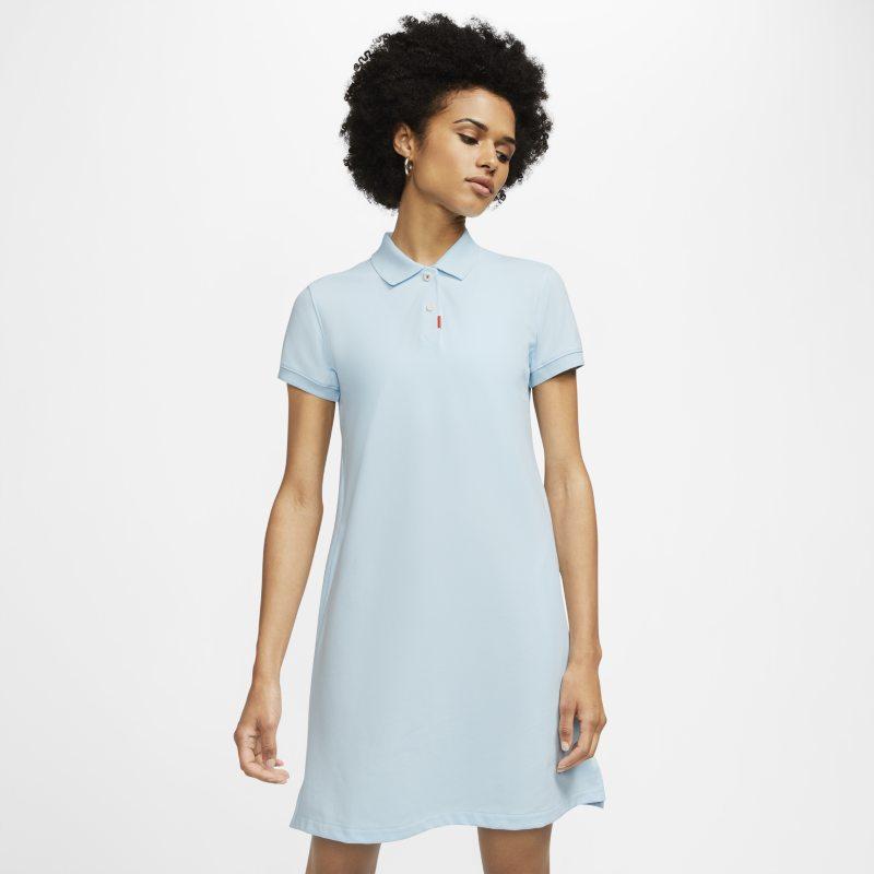 Nike The Nike Polo womens Dress - Blue