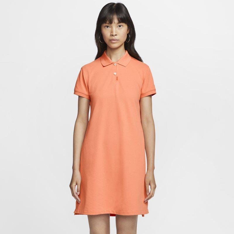 Nike The Nike Polo womens Dress - Orange