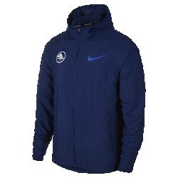 <ナイキ(NIKE)公式ストア>ナイキ エッセンシャル メンズ フーデッド ランニングジャケット BV0249-492 ブルー画像