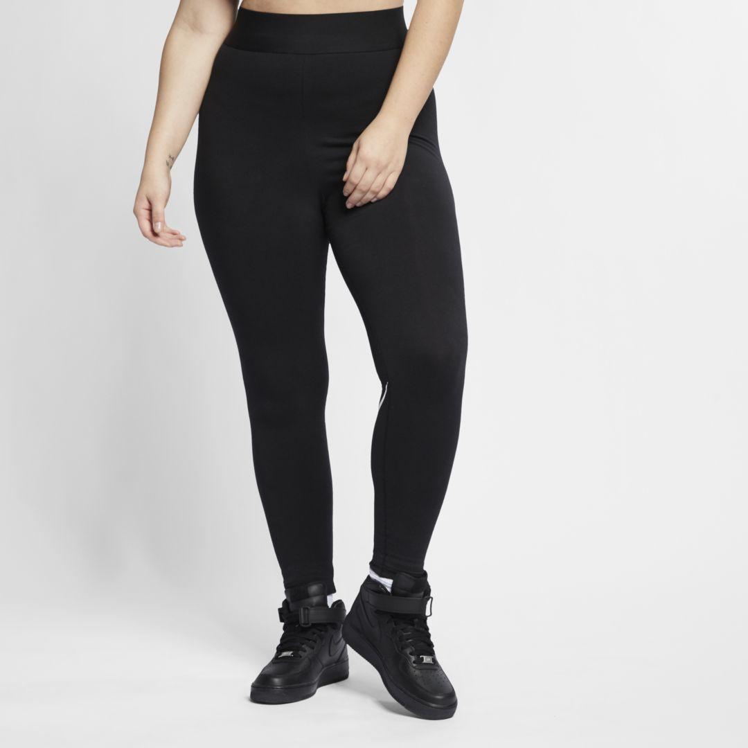 Nike Nike Sportswear Leg A See Women S High Rise Leggings Plus Size Size 3x Black Bv0285 010 From Nike Shefinds