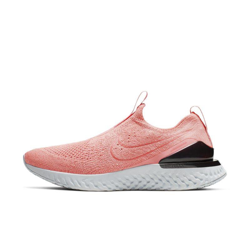 Scarpa da running Nike Epic Phantom React Flyknit - Donna - Rosa