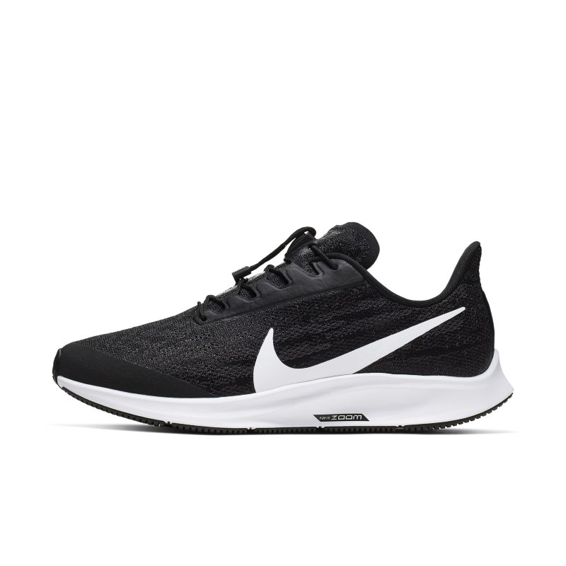 Scarpa da running Nike Air Zoom Pegasus 36 FlyEase - Donna (larga) - Nero