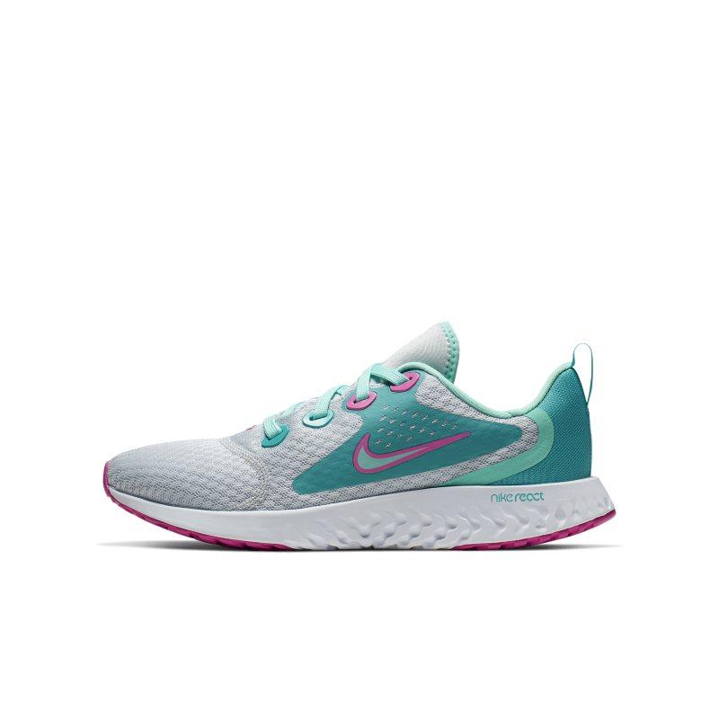 Scarpa da running Nike Legend React Aqua - Ragazzi - Silver