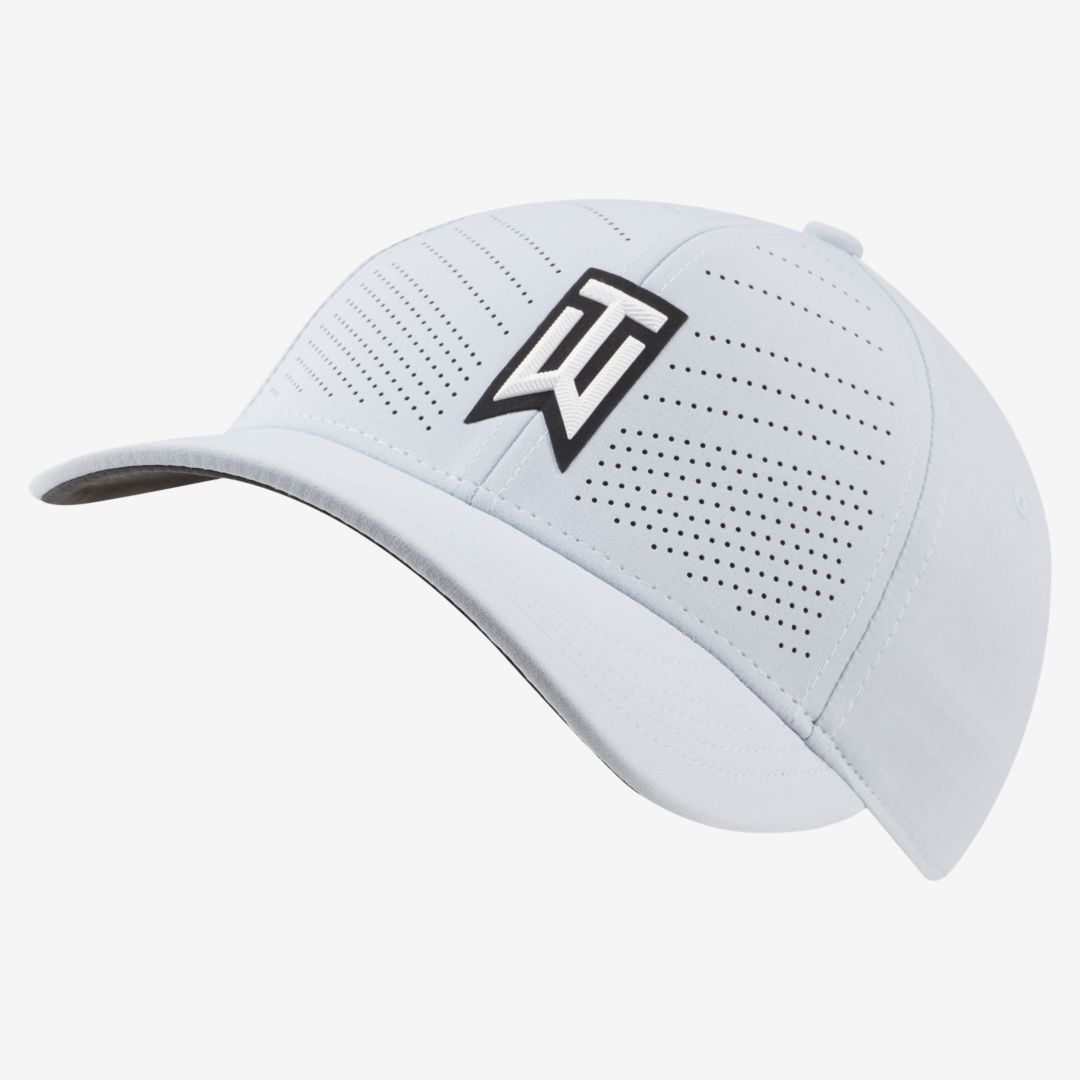 Nike AeroBill Tiger Woods Heritage86 Golf Hat (Sky Grey)