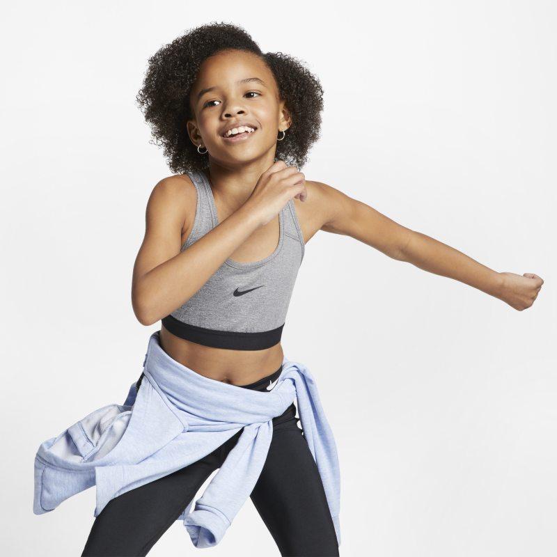 Nike Sujetador deportivo - Niña - Gris
