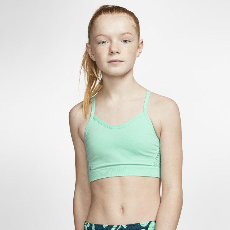 Nike Dri-FIT Sujetador deportivo - Niña - Verde