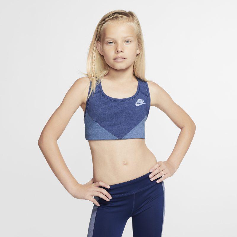 Nike Sujetador deportivo - Niña - Azul