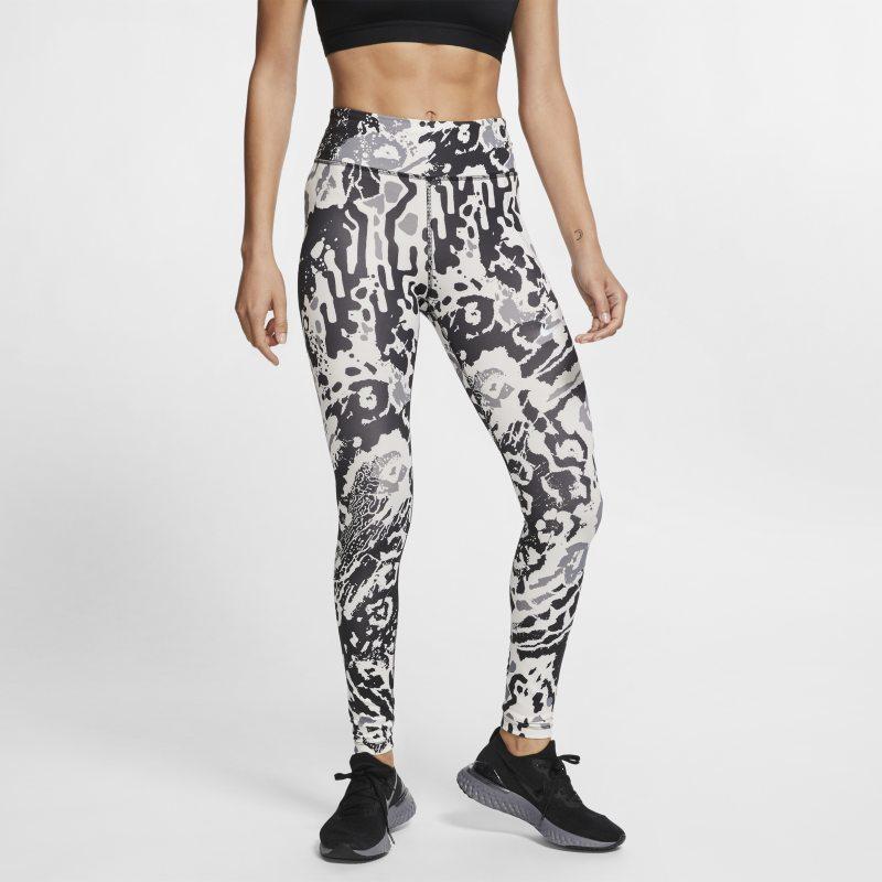 Nike Fast Mallas de running con estampado de 7/8 - Mujer - Crema