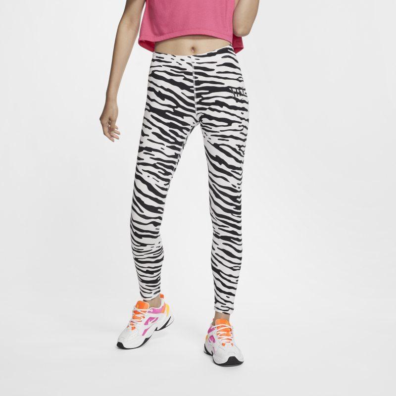 Nike Sportswear Essential Leggings con estampado - Mujer - Blanco