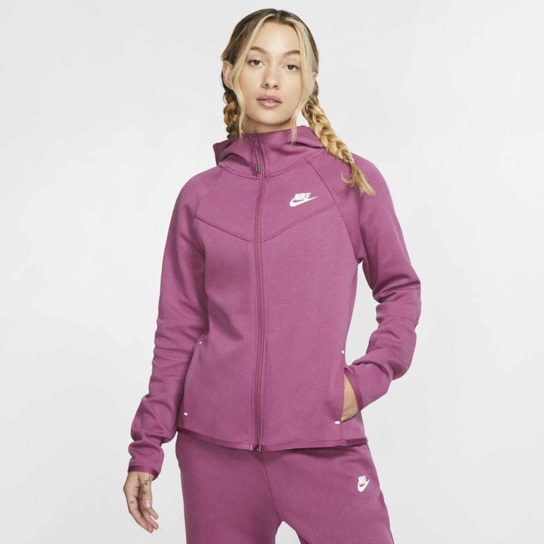 Lava Dva Boca Nike Tech Fleece Hoodie Red Women Envesterealestate Com