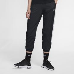 <ナイキ(NIKE)公式ストア>ナイキ スポーツウェア ウィメンズ ウーブン スウッシュ パンツ BV3554-010 ブラック ★30日間返品無料 / Nike+メンバー送料無料!画像