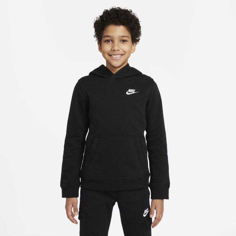 Nike Sportswear Club Hoodie voor kids - Zwart