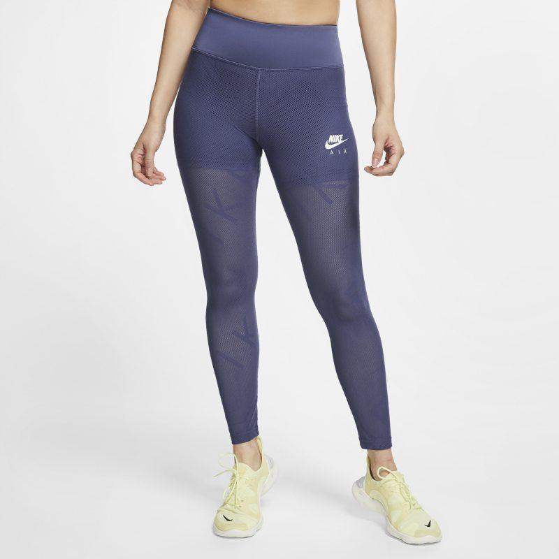 Nike Air Mallas de running de tejido de malla de 7/8 - Mujer - Morado