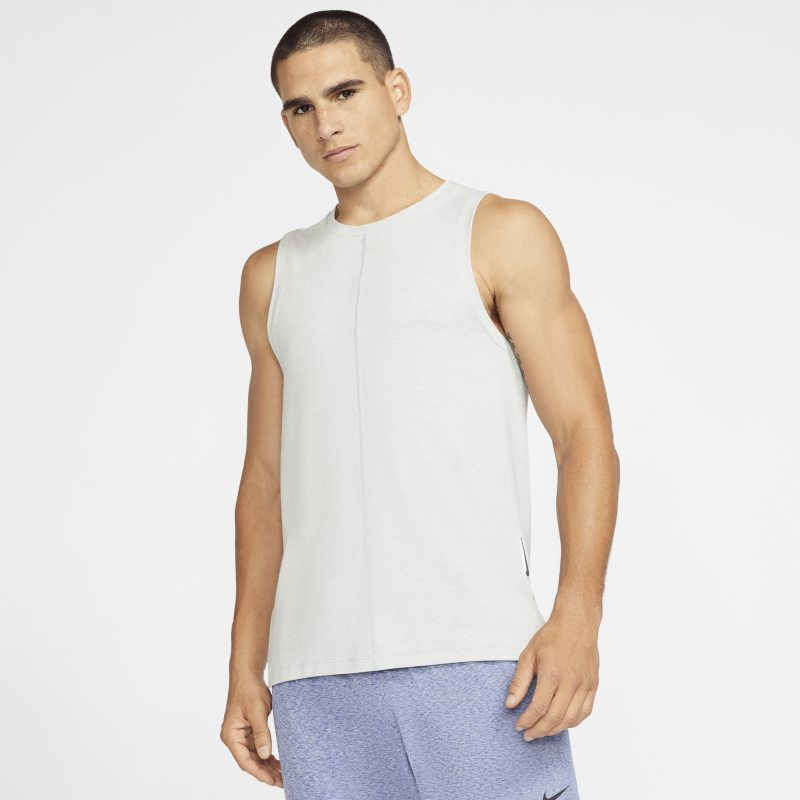Nike Yoga Tanktop voor heren - Grijs