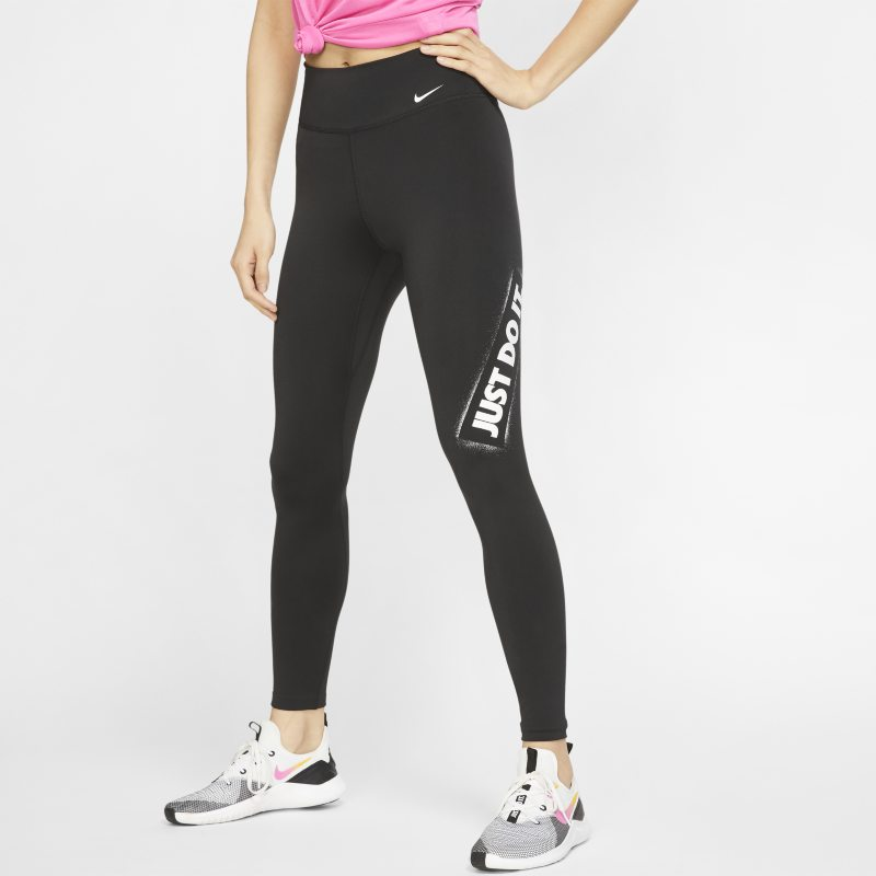 Nike One Mallas JDI - Mujer - Negro
