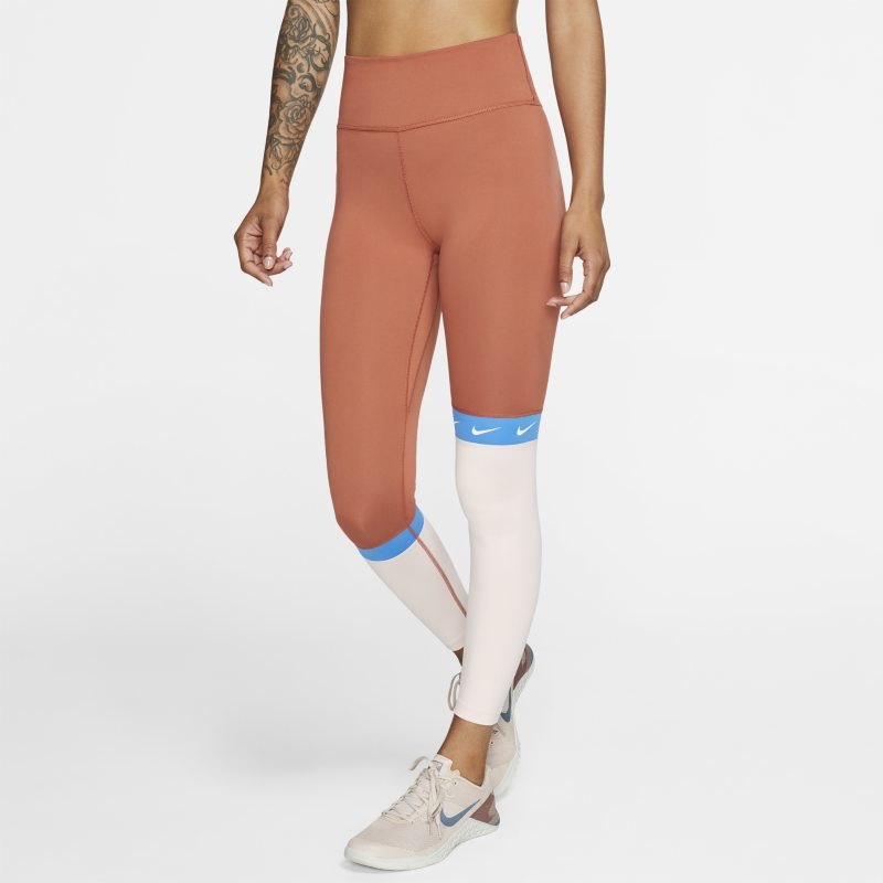 Nike One Mallas de 7/8 - Mujer - Naranja