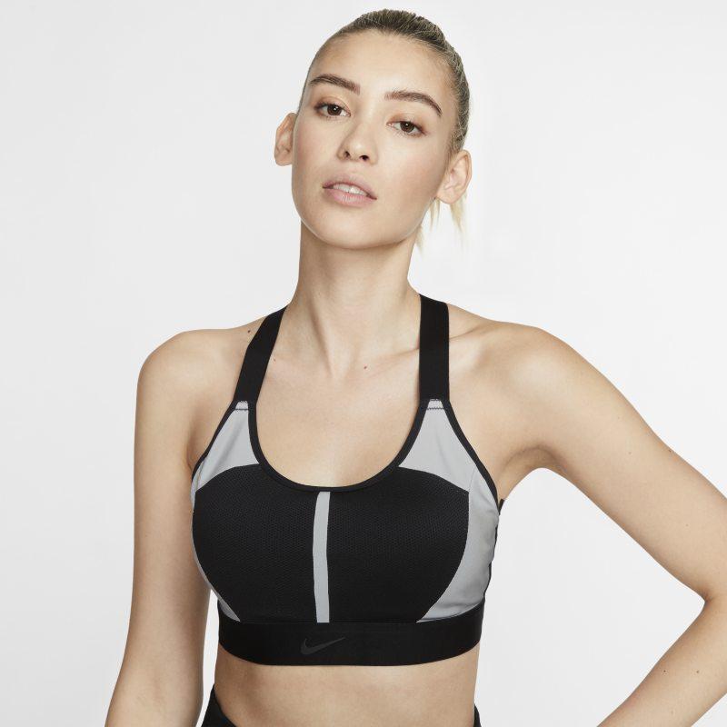 Nike Swoosh City Ready Sujetador deportivo de sujeción media - Mujer - Negro