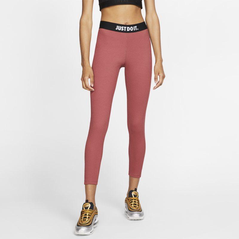 Nike Sportswear Leggings elásticos JDI - Mujer - Rojo