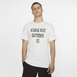 <ナイキ(NIKE)公式ストア>ナイキコート メンズ グラフィック テニス Tシャツ BV7015-100 ホワイト ★30日間返品無料 / Nike+メンバー送料無料!画像