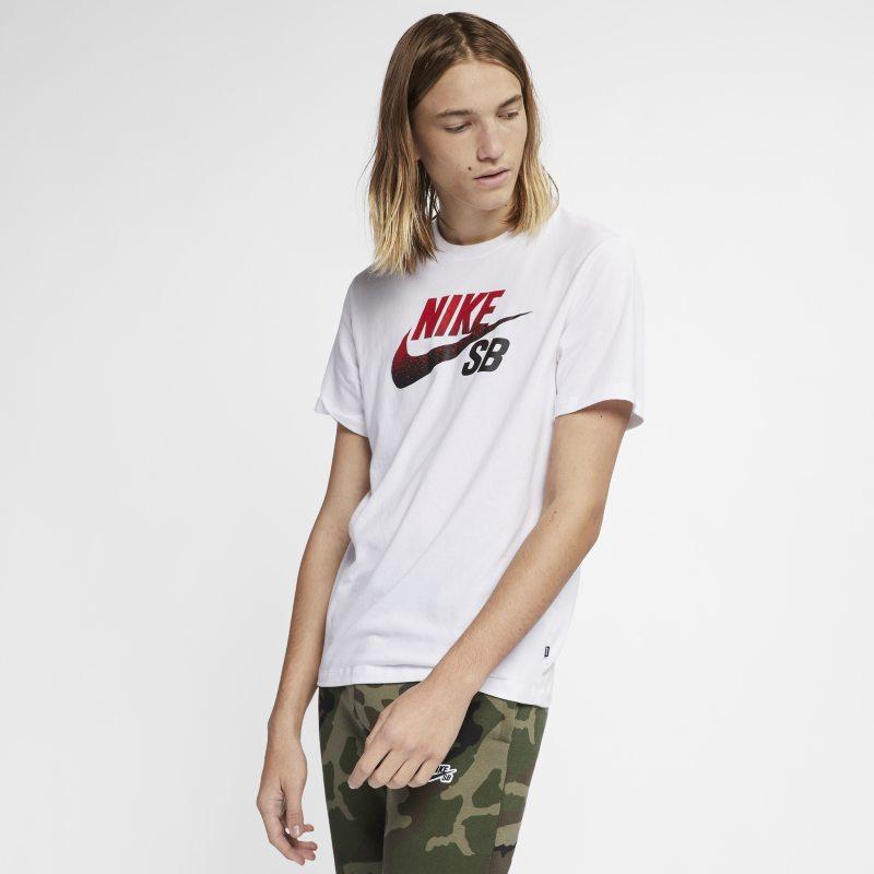 Nike SB Dri BV7433-101 - FIT Logolu Erkek Kaykay Tişörtü XL Beden Ürün Resmi
