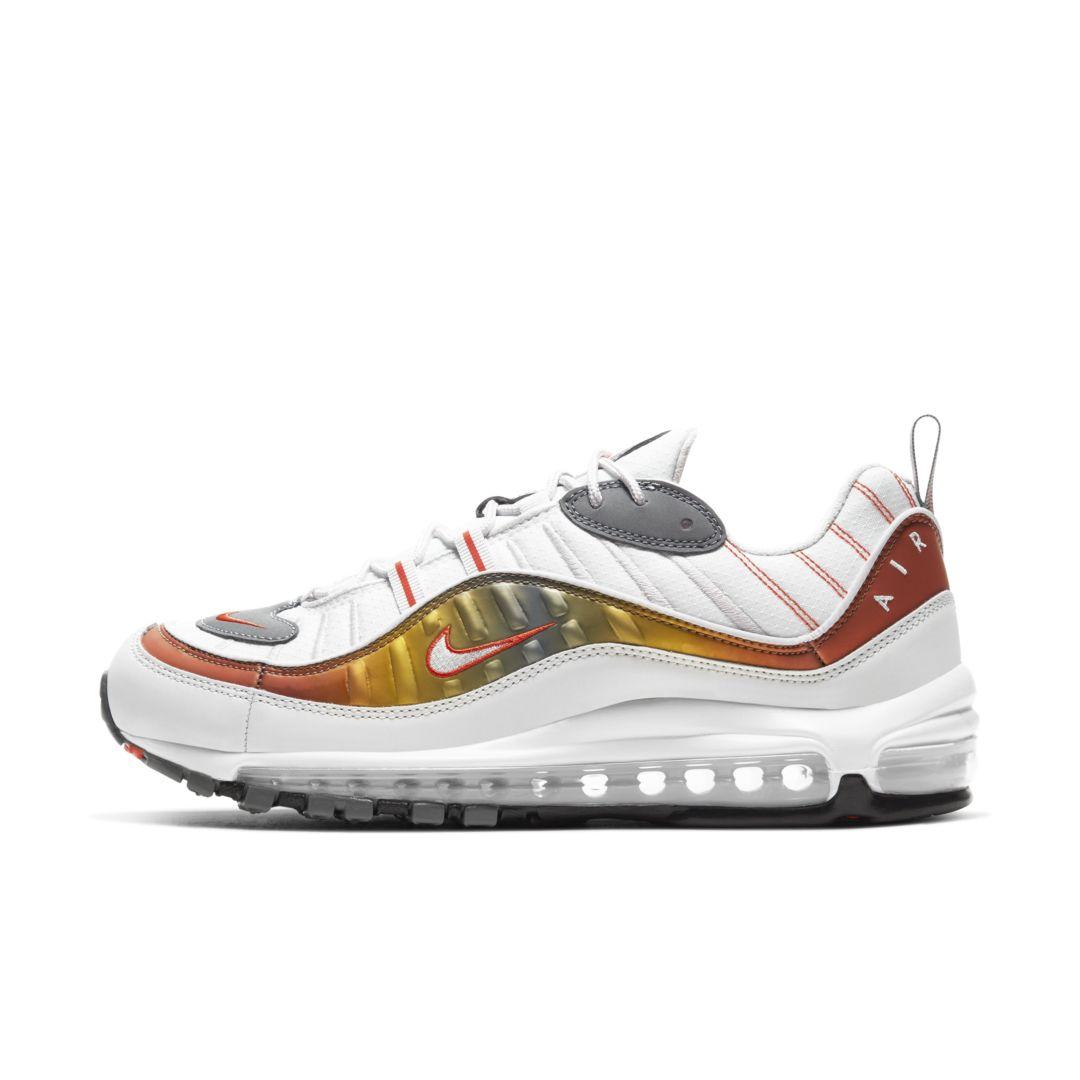 Nike Air Max 98 SE Men's Shoe Size 13 (Grey/Team Orange ...