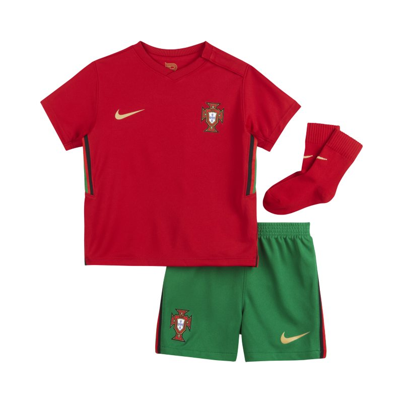 Portugal 2020 Thuis Voetbaltenue voor baby's/peuters - Rood
