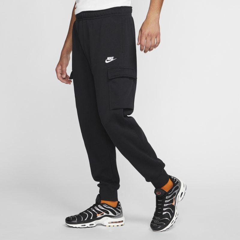 Cargobyxor Nike Sportswear Club Fleece för män - Svart