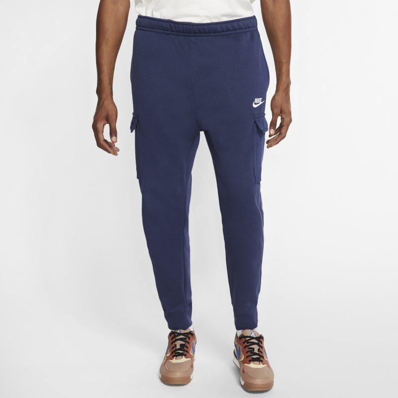 Cargobyxor Nike Sportswear Club Fleece för män - Blå
