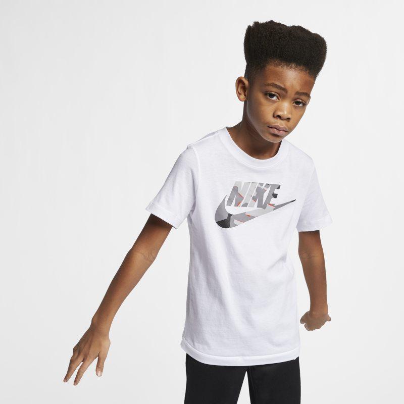 Nike Sportswear Genç Çocuk (Erkek) Tişörtü  CD3451-100 -  Beyaz L Beden Ürün Resmi
