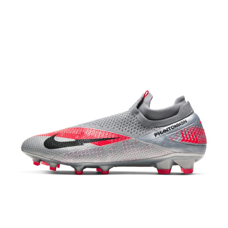Nike Nike Phantom Vision 2 Elite Dynamic Fit FG Firm-Ground Football Boot - Grey