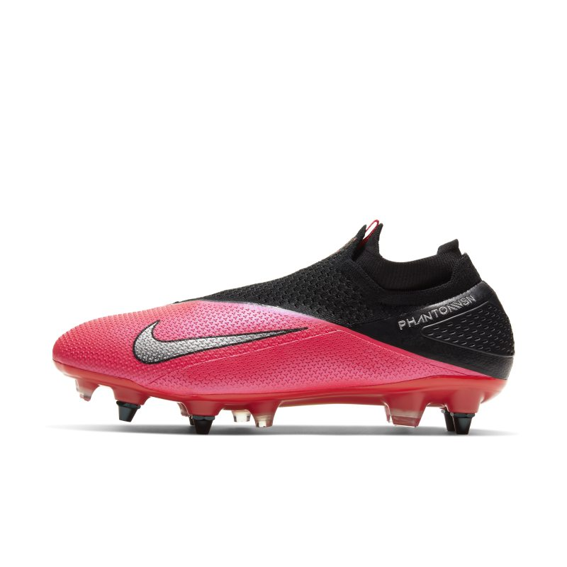 Nike Nike Phantom Vision 2 Elite Dynamic Fit SG-PRO Anti-Clog Traction Soft-Ground Football Boot - Red
