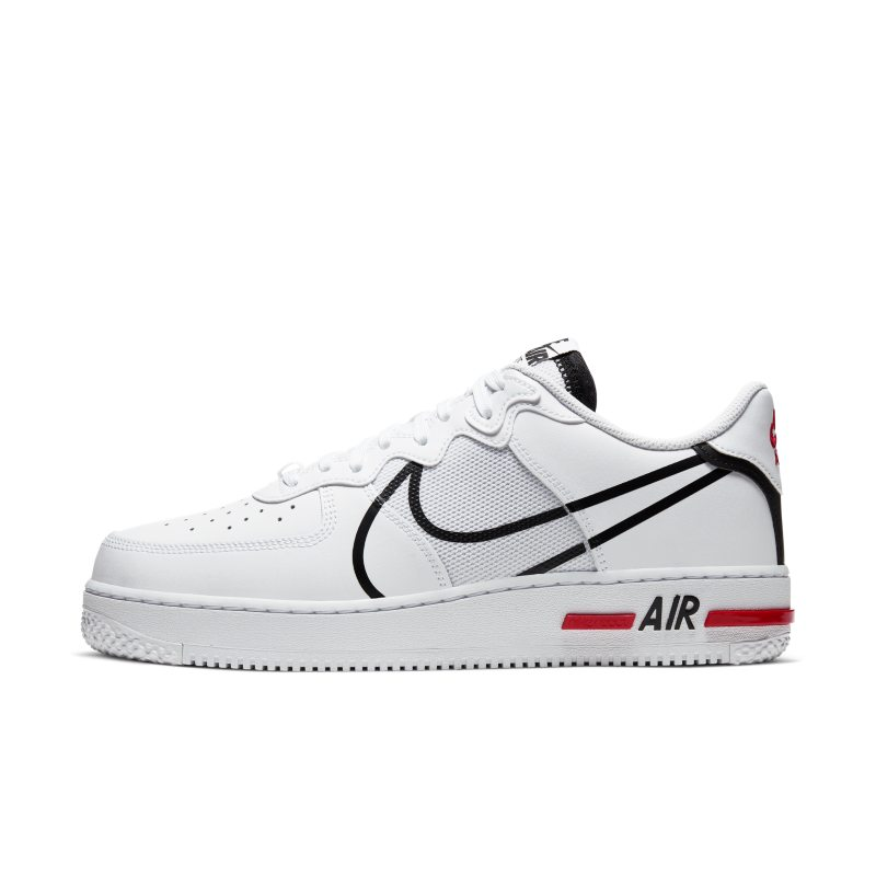 Nike Air Force 1 React Herrenschuh – Weiß