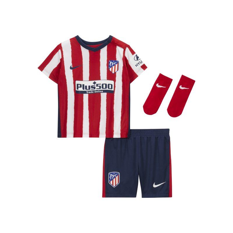 Atlético de Madrid 2020/21 Thuis Voetbaltenue voor baby's/peuters - Rood