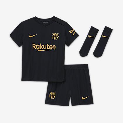 Fc Barcelona 2020 21 Home Younger Kids Football Kit Nike Lu