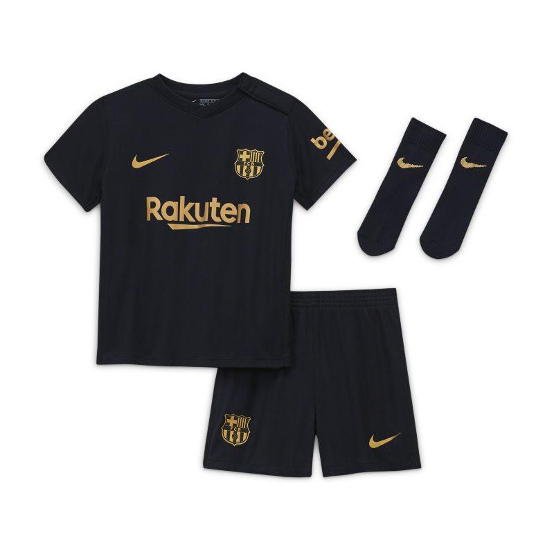 FC Barcelona 2020/21 Uit Voetbaltenue voor baby's/peuters - Zwart