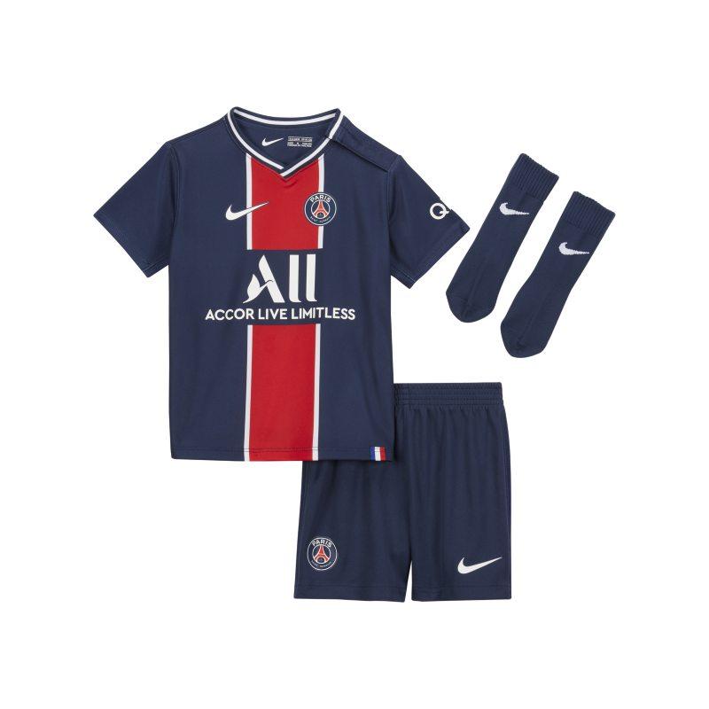 Paris Saint-Germain 2020/21 Thuis Voetbaltenue voor baby's/peuters - Blauw