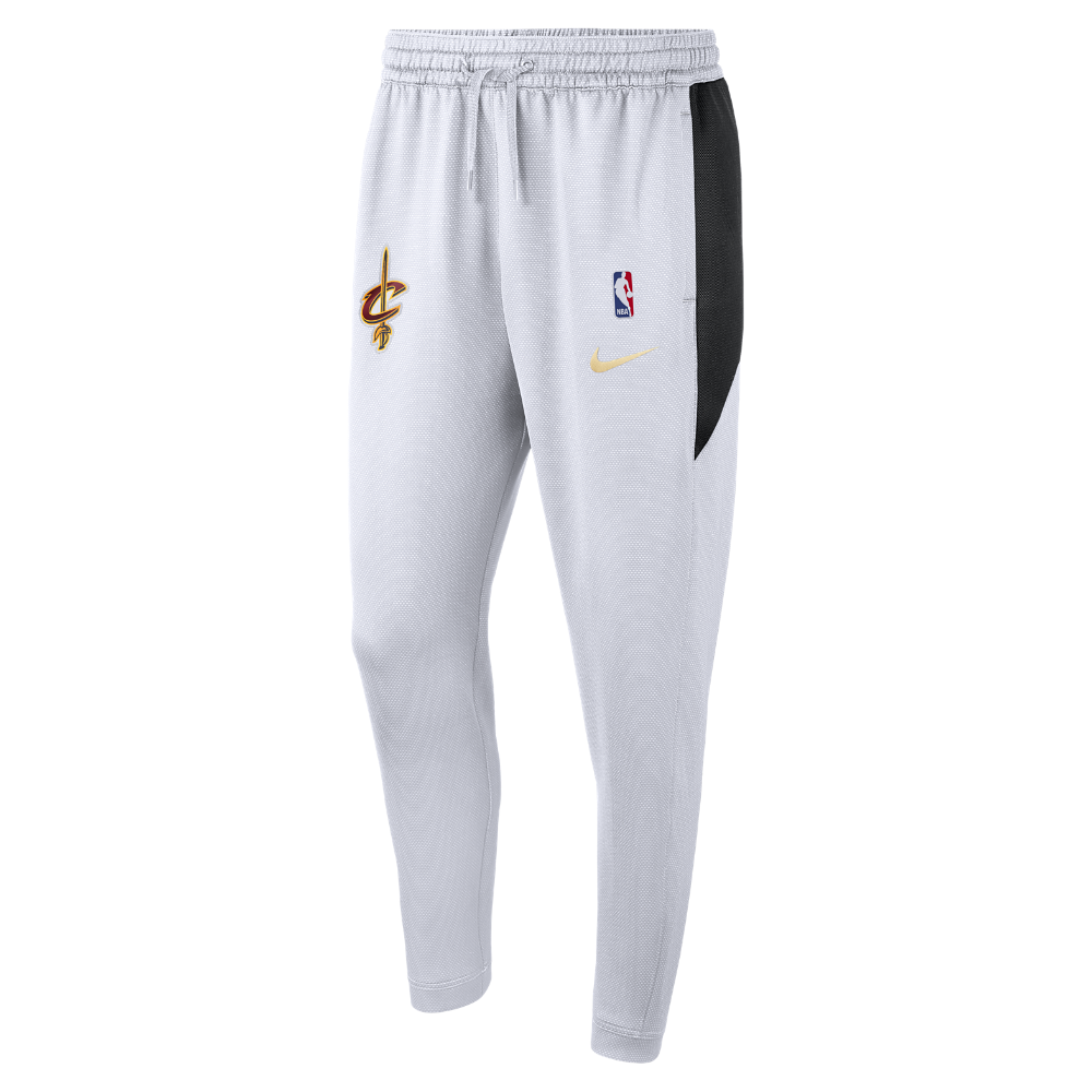 Cleveland Cavaliers Nike Therma Flex Showtime Finals Men's NBA Pants Size Medium (White)