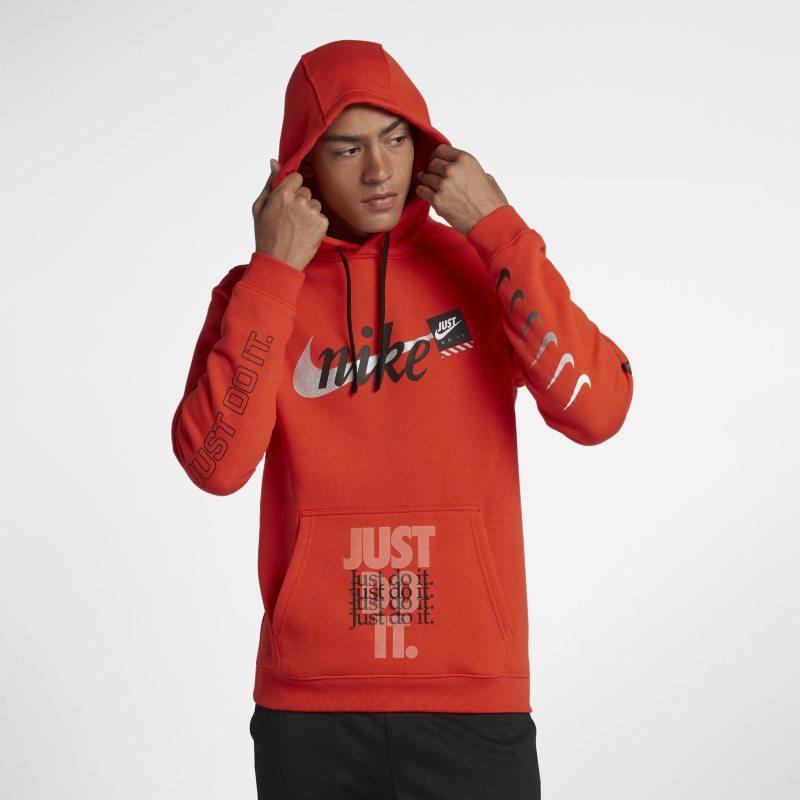 cfacd2067 Nike Sportswear Club Fleece Men's JDI Pullover Hoodie - Orange Image