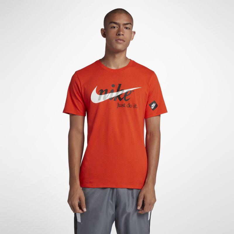 Nike Sportswear Men's JDI T-Shirt - Orange Image
