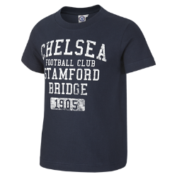 Chelsea FC Core Wordmark Baby & Toddler/Younger Kids' T-Shirt