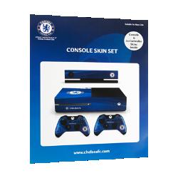 Chelsea FC Xbox Console Sticker Skin Set