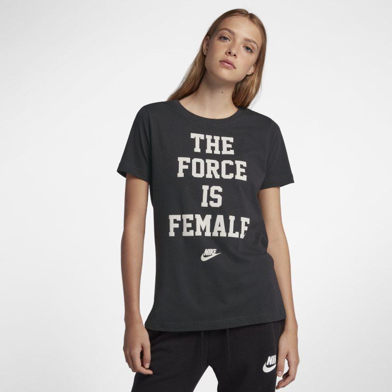 Nike Sportswear Kadın Tişörtü  CI0785-001 -  Gri L Beden Ürün Resmi